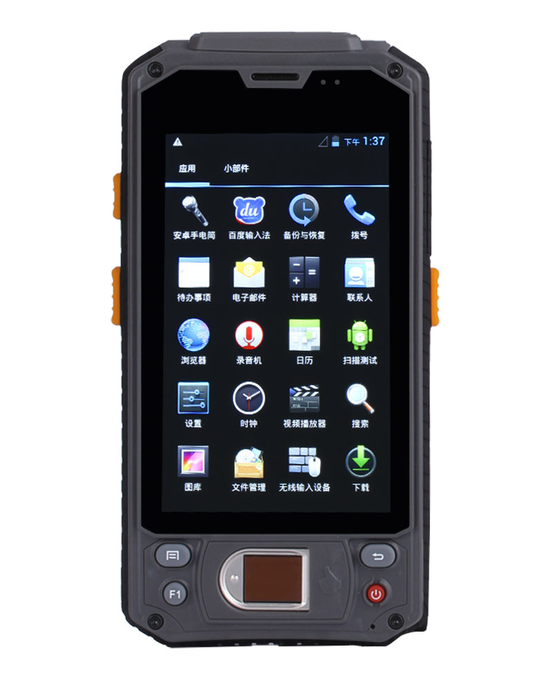 "4.3"" 4.3 inch MT6572 3G H901 android 1D 2D barcode scanner ZIGBEE RFID Fingerprint finger print scanner mobile computer PDA handhelds terminal H901"