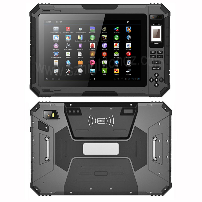 New Arrival 10.1 inch 3+32 Android 7.0 rugged tablets 4G LTE Waterproof tablets IP67 rugged computer with 14600mAh battery