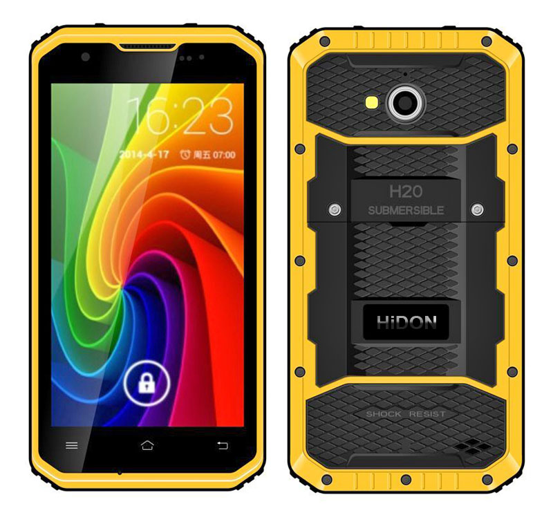Cheapest 5 inch Android 5.1 4G Rugged Mobile Phone or 4G Rugged Smartphone