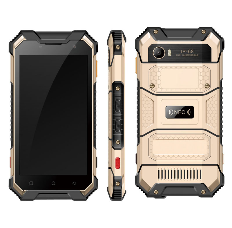 Highton Octa-Core 5 inch FHD 1920*1080 Android 7.0 PTT NFC SOS 4G outdoor smartphone,waterproof smartphone,4G waterproof phone