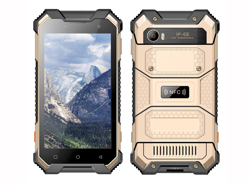 4G 8-Core 2.0GHz Android 7.0 Rugged Smartphone with 4+64G with NFC, PTT, SOS waterproof mobile phone