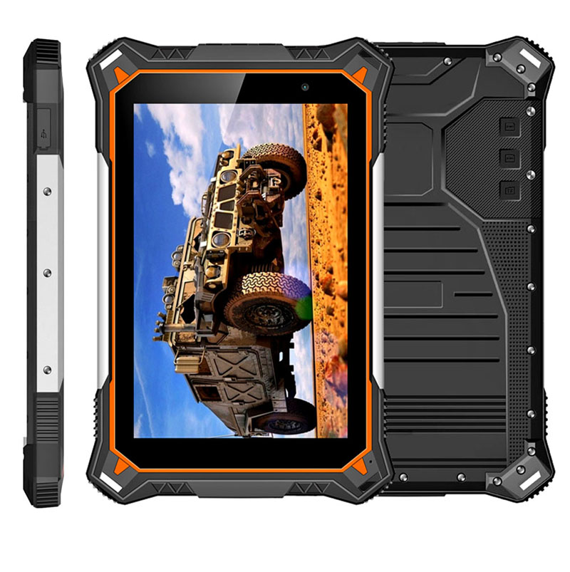 Cheapest 8 inch Android 8.1 2G+32G Rugged Tablet PC 10000mAh battery Industrial Tablets IP68 Waterproof Shockproof Tablets